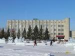 В центре Назарово установят ледовые фигуры