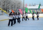 В Ужуре состоялось открытие новой «ледовой арены»