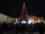 В Ачинске зажгли главную ёлку города