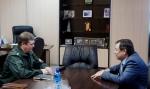 Глава Ачинска встретился с главным наркополицейским Красноярского края