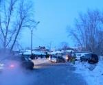 Сотрудники ГИБДД Ачинска попали в дорожно-транспортное происшествие