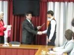 Самых умных школьников Ачинска поздравил Глава города