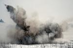 В Ачинске взорвали гранату