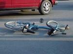 Очередной ачинский велосипедист оказался под колёсами автомобиля