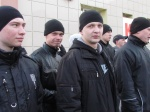 Сегодня в Ачинске состоялась первая отправка призывников