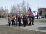 В Назарово готовятся к Празднику Весны и Труда