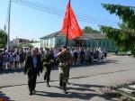 Красноярский край принял эстафету Знамени Победы