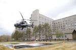 При Краевой больнице открылась вертолетная площадка