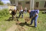 Безработные Канского района занимаются благоустройством населенных пунктов