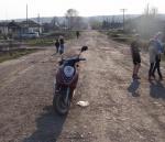 В Ужуре пострадали двое детей в ДТП с участием мопеда