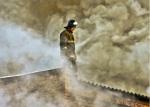 В Канском районе пожар унес жизнь неизвестного мужчины
