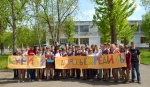 Ачинские школьники выступили против курения