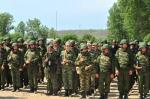 Минусинские десятиклассники пошли  в армию
