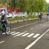 Автоинспекторы подарили канским детям велогородок