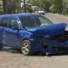 В Минусинске столкнулись  Toyota и  Mazda