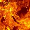 В Канске горит деревоперерабатывающее предприятие