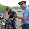 В Минусинске штрафуют мотоциклистов
