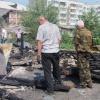 В  Ачинске продолжается серия  поджогов