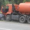 На выезде из Назарово в ДТП пострадал водитель иномарки