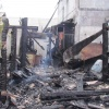 В  Ачинске  продолжают  ликвидировать  последствия  ночного  пожара