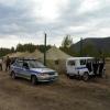 Минусинские полицейские охраняют археологические раскопки