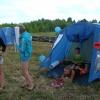 В Ачинском районе впервые  открылся  палаточный  лагерь