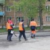 В Назарово продолжается ремонт улично-дорожной сети