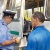 В Минусинске пассажиров перевозят с нарушениями