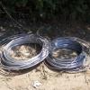 Житель Канска похитил полтора километра кабеля