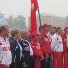 Ачинские ветераны спорта оправились на краевую спартакиаду