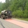 На участке автодороги Ачинск - Горный – Берёзовый опробуют ноу-хау