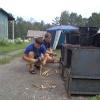 Юные туристы Канска отдыхают в палаточном лагере