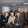 Районные чиновники отчитались перед ветеранами