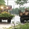 В Минусинске ликвидируют последствия урагана