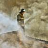 В Канске горят бесхозные здания