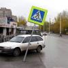 В Ачинске регулярно сбивают знаковую информацию