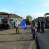 В Ужурском районе приводят в порядок дороги
