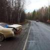 В Ермаковском районе TOYOTA столкнулась с КАМАЗом