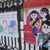 В назаровском детском саду появилась нестандартная реклама