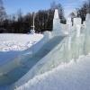 Ледяной городок в Шарыпово теперь будет безопасным