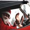 В Красноярске Дед Мороз пытался угнать автомобиль