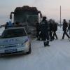 Ужурские полицейские помогли жителям Поднебесной спастись от мороза
