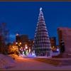 На красноярской елке огни оставили до 20 января