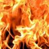 В Ачинске потушили железнодорожный ангар