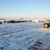 В Красноярск прибыли первые участники VI Всероссийских зимних сельских игр