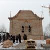 В поселке Торгашино завершается первый этап строительства новой церкви