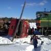 В Красноярске по факту аварии грузовика и электровоза ведется следствие