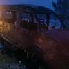 В Дивногорске мужчина погиб при попытке потушить автобус