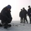 Шарыповцы рыбачат на водохранилище, невзирая на запреты