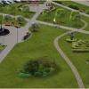 В Красноярске появится город-сад с фонтаном и лабиринтом